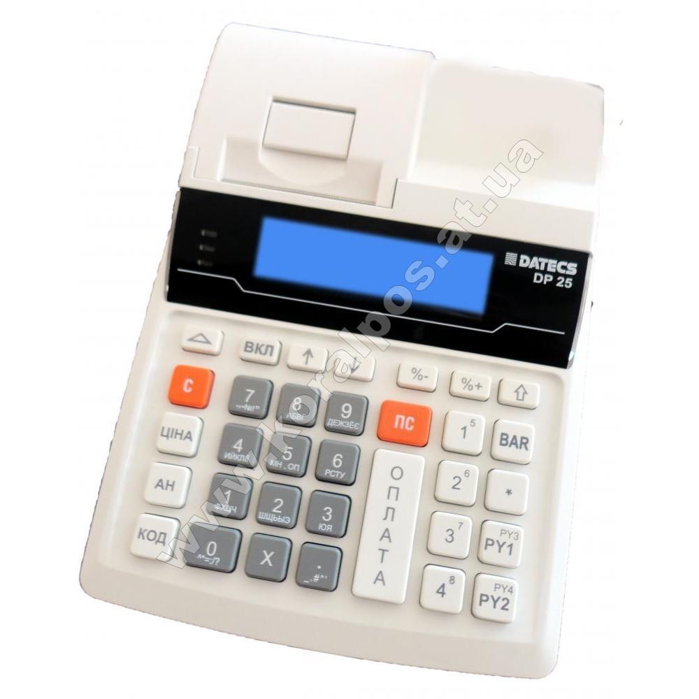 Кассовый аппарат Экселлио DP-25 с КСЕФ (GPRS модем, Ethernet)
